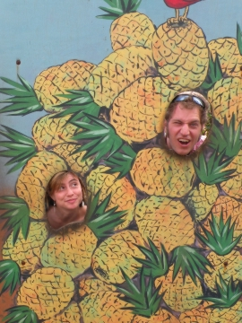 At the Pineapple Plantation